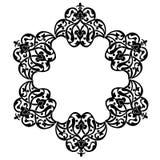 Antique ottoman turkish pattern vector design Royalty Free Stock Photos