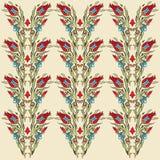 Antique ottoman turkish pattern vector design fourteen Royalty Free Stock Photos