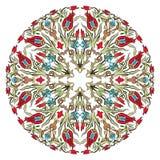 Antique ottoman turkish pattern vector design nine Stock Photos
