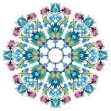 Antique ottoman turkish pattern vector design seventeen Royalty Free Stock Photos