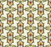 Antique ottoman turkish pattern vector design thirty two Royalty Free Stock Photography