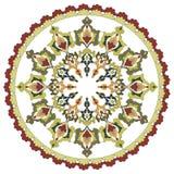 Antique ottoman turkish pattern vector design twenty eight Stock Images