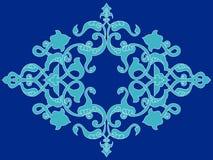 Antique ottoman turkish pattern vector design twenty three Stock Images