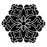 Antique ottoman turkish vector design four Royalty Free Stock Photography