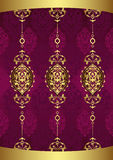 Antique ottoman wallpaper illustration design Royalty Free Stock Photos
