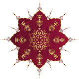 Antique ottoman wallpaper illustration design Royalty Free Stock Photography