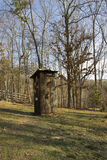 Antique Outhouse  Royalty Free Stock Images