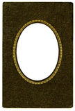 Antique Oval Frame Royalty Free Stock Photography