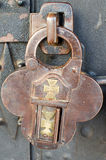 Antique padlock Stock Images