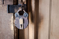 Antique Padlock Royalty Free Stock Images