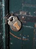 Antique padlock on jail cell door  Kilmainham Gaol Jail Museum D Stock Photo