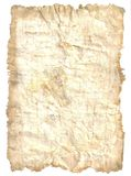 Antique paper. Old and yellow sheet of paper Royalty Free Stock Photo