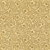 Antique paper background. With floral pattern. XIX c Royalty Free Stock Photography