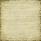 Antique paper and bamboo woven background. With light grunge frame Royalty Free Stock Photos