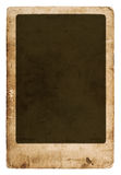 Antique paper sheet with frame Royalty Free Stock Photo