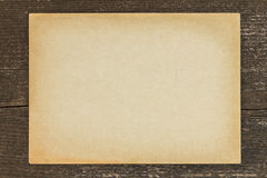 Antique paper vintage wooden background Stock Photography