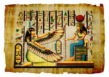 Antique papyrus Royalty Free Stock Photo