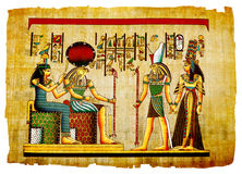 Antique papyrus Royalty Free Stock Images