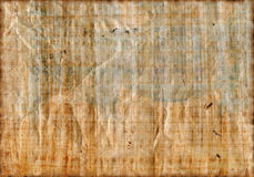 Antique papyrus texture Stock Photography