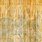 Antique papyrus texture to background Stock Photography