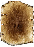 Antique parchment paper scroll, texture Stock Images