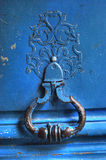 Antique parisian  door close-up image Stock Images