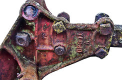 Antique part of farm equipment Stock Photography
