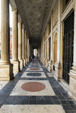 Antique passage in Rome, Italy. Antique passage in palazzo chigi at Rome, Italy Stock Photos
