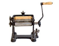 Antique Pasta Machine Royalty Free Stock Images