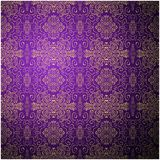 Antique pattern background. Purple seamless Royalty Free Stock Images