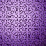 Antique pattern background. Purple seamless Royalty Free Stock Image