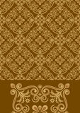 Antique pattern design Stock Photo