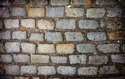 Antique pavement texture Royalty Free Stock Photos