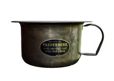 Antique pee pot Royalty Free Stock Photo