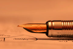 Antique pen Stock Photography