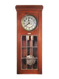 Antique pendulum clock Royalty Free Stock Photos