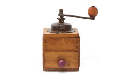 Antique pepper grinder Stock Image