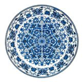 Antique Persian Design Plate Royalty Free Stock Photography