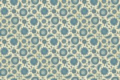 Antique Persian Style Wallpaper Royalty Free Stock Photography
