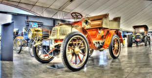 Antique 1903 Peugeot Royalty Free Stock Photos