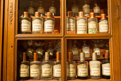Antique pharmacy, Beaune, France Royalty Free Stock Photography