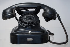 Antique phone Stock Photo
