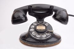 Antique phone stock photography