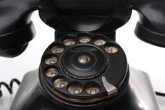 Antique phone Royalty Free Stock Photography