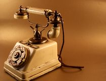 Antique phone Royalty Free Stock Photos
