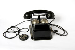 Antique phone Stock Image