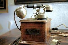 Antique phone Royalty Free Stock Photos