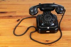 Antique phone Stock Photo