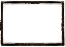 Antique photo border. Computer designed highly detailed grunge antique photo border with space for your text or image. Great grunge layer for your projects Royalty Free Stock Photo