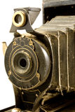 Antique Photo camera Stock Image